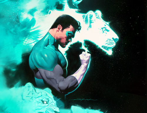 Green Lantern #9 Variant