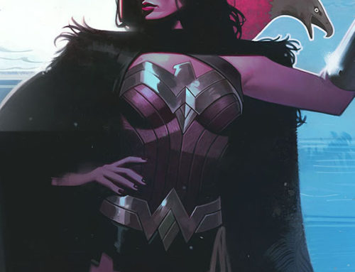 Wonder Woman Cover 758